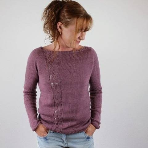"Knitting pattern raglansweater ""So light"""