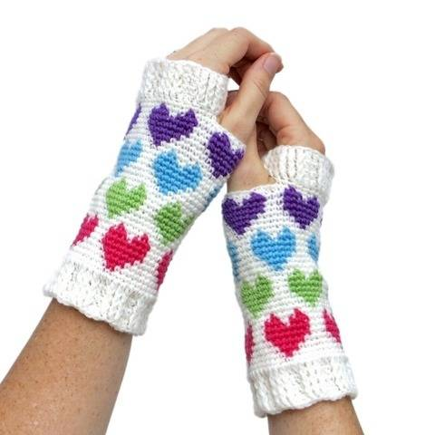 Women's Hearts Abound Mitts