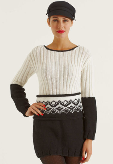 Florine Pull, Pull-over chez Makerist - Image 1