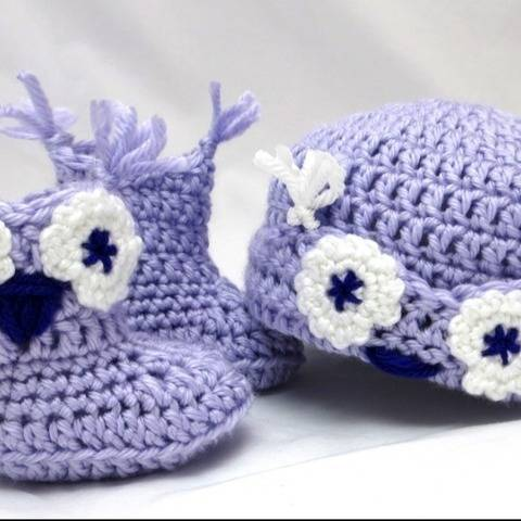 Owl Whooties Baby Gift Set