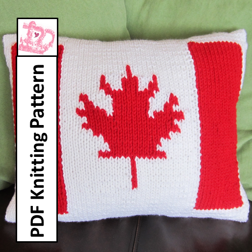 Canadian Flag Pillow Cover