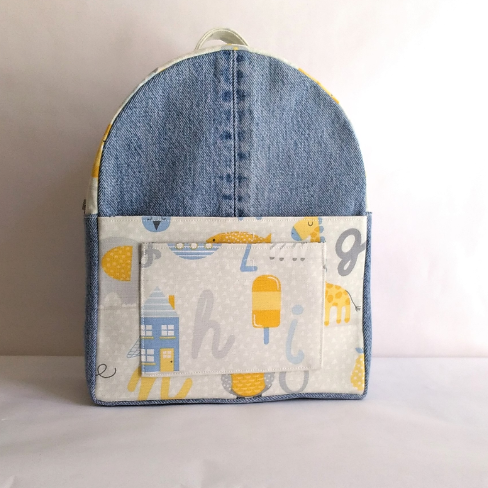 Backpack Alexia for children PDF Pattern