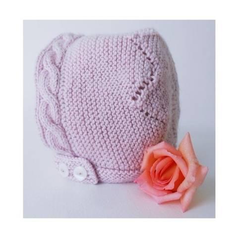 Béguin rosace - Tutoriel tricot