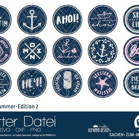 "Plotter-Datei ""Labels Summer Edition"" #2"