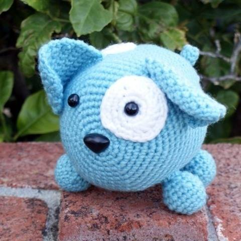 Roly Poly Doggy Crochet Pattern