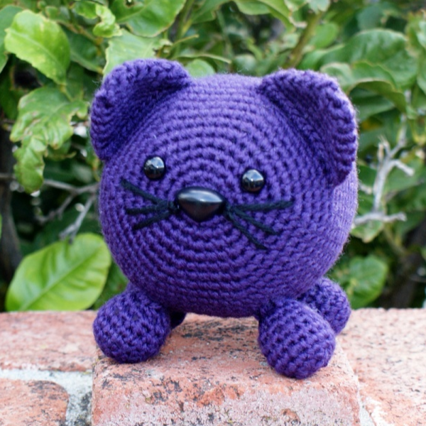 Roly Poly Kitty Crochet Pattern