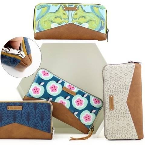 Wallet MYNTA – pattern and sewing instructions
