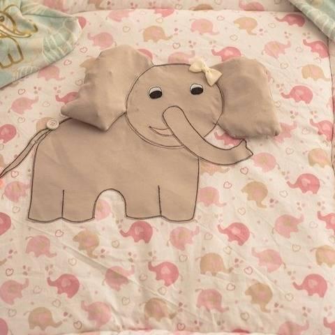 Mini&Me Applikation Elefant