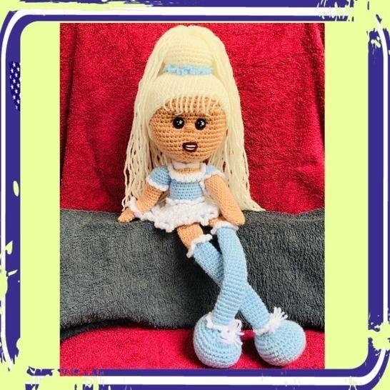 TUTO PDF poupée mimi blue crochet chez Makerist - Image 1