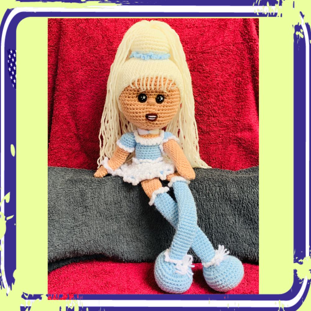 TUTO PDF poupée mimi blue crochet