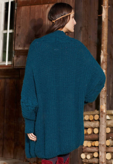 Malisha Veste, Cardigan