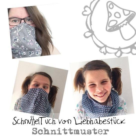 SchnuffelTuch, eine Alternative zur Behelfsmaske bei Makerist - Bild 1