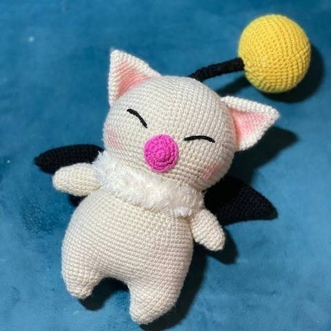 Crochet Pattern - Amigurumi Moogle Mog Final Fantasy at Makerist