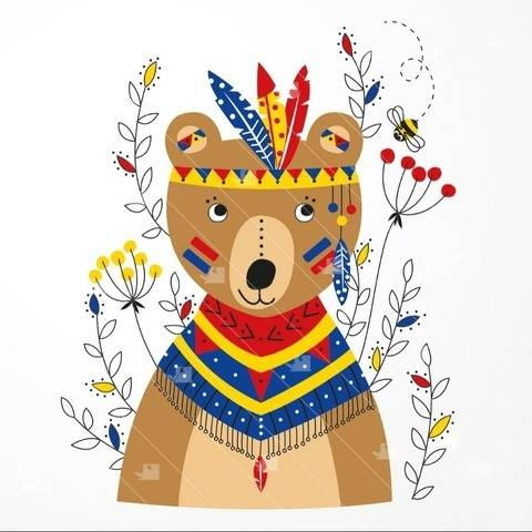 Indischer Bär - Plotterdatei