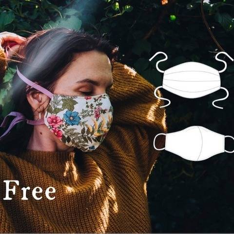 FREE Fabric Face Mask - PDF Pattern