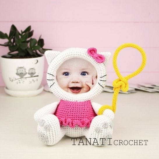 "Copy 1 - TUTORIEL CROCHET ""Cadre Photo KITTY"" chez Makerist - Image 1"
