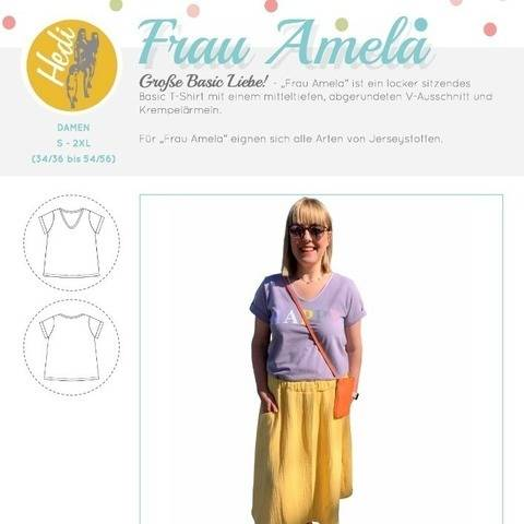 "eBook T-Shirt ""Frau Amela"""