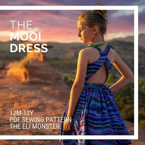 The Mooi Dress, Sized 12m-12y