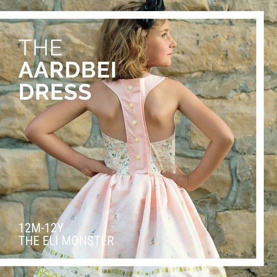 The Aardbei Dress PDF Sewing Pattern, Sized 12m-12y at Makerist - Image 1