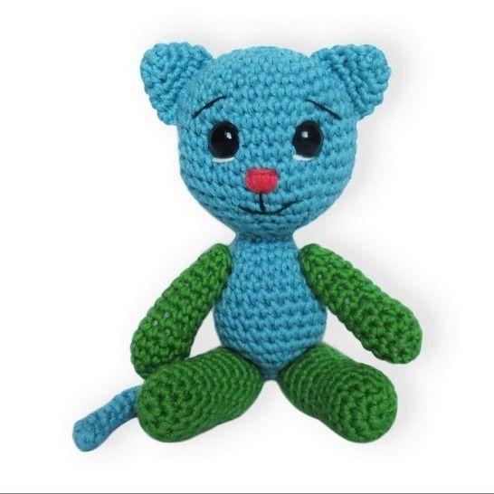 Free Crochet Cat Patterns - Crochet Now | 546x546