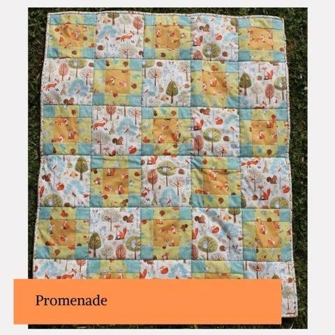 Promenade plaid patchwork enfant