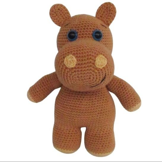 Hippo Amigurumi Crochet Patterns - Cool Creativities | 546x546