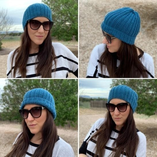 Easy Knit Beanie Duo at Makerist - Image 1