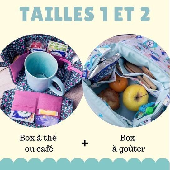 Lily Box à thé + sac à goûter (2 patrons) chez Makerist - Image 1