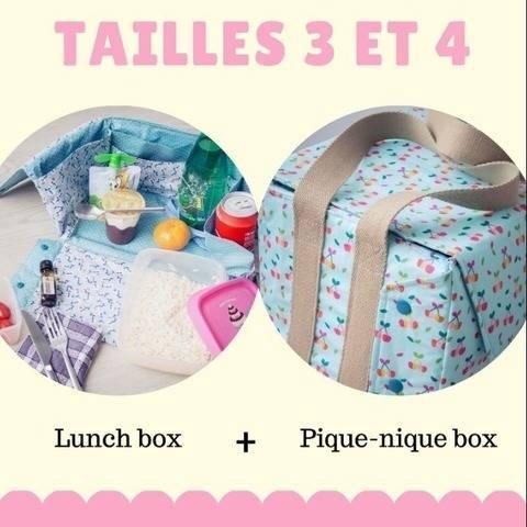 Lily Lunch box + Sac à Pique-nique ( 2 modèles)