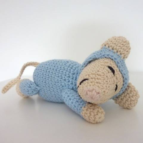 "Häkelanleitung - Baby-Maus ""Mini"""