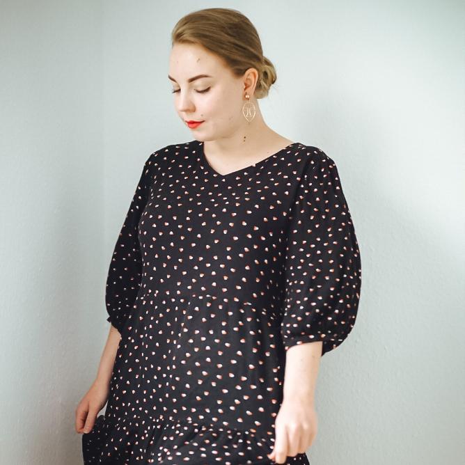 """Kleid und Bluse """"Lucia"""" für die Größen 34-46"""