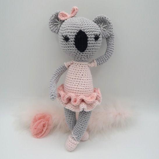 Amigurumi koala au crochet•Bella, le koala chez Makerist - Image 1