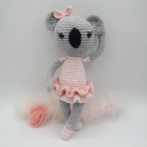 Amigurumi koala au crochet•Bella, le koala