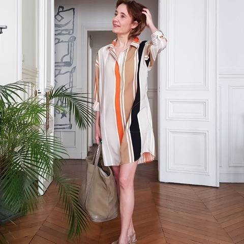Robe JOAN chez Makerist