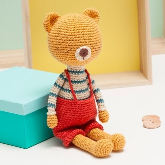 Bear crochet pattern, amigurumi bear pattern at Makerist - Image 1