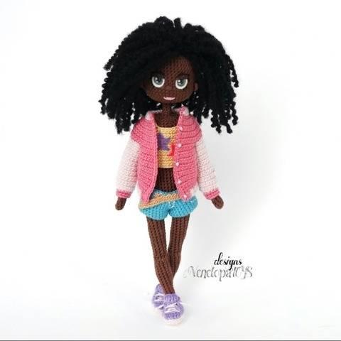 Amigurumi Doll Naomi