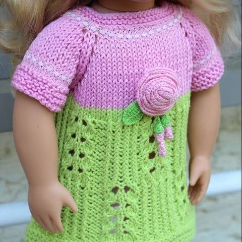 Dolls Dress4 Knitting Pattern