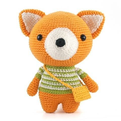 Alexander the Fox Amigurumi crochet pattern at Makerist