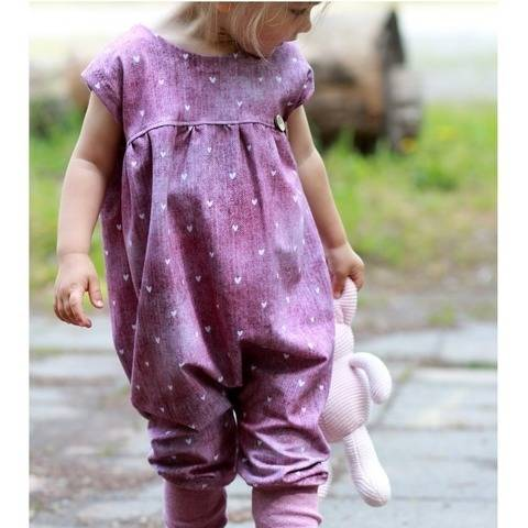 Baggy Romper Gr. 56-122 bei Makerist