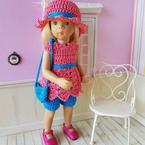 """Natalia"" crochet pattern for Minouche"