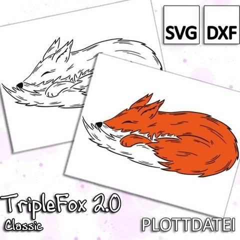 TripleFox 2.0 - Classic - Plottdatei