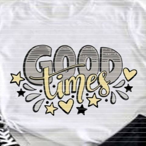 Good Times SVG DXF Plotterdatei