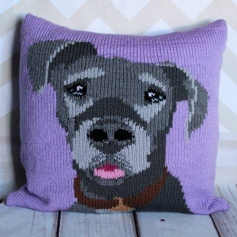 Misty the Great Dane Cushion Cover