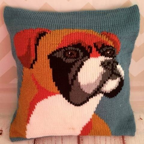 Will the Boxer Dog Cushion Cover