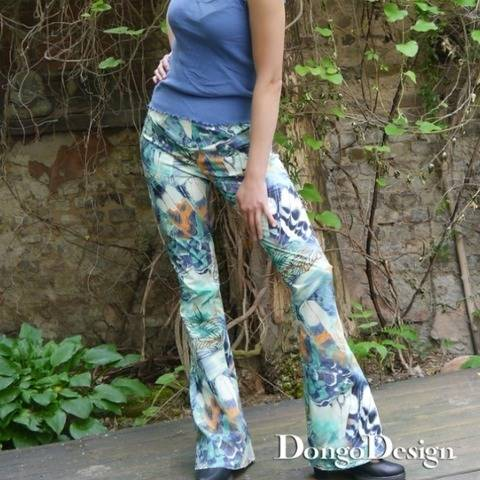 PDF Sewing Pattern Ebook Bell Bottoms San Francisco