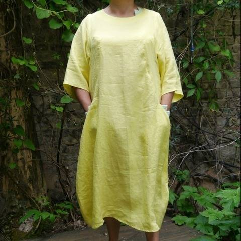 PDF sewing pattern Ebook Dress Korsika