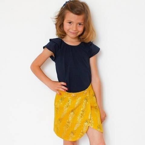 Malo Mini - easy wrap skirt for kids