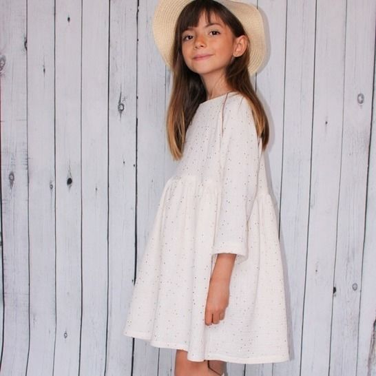 Cassiopée Mini - dress sewing pattern for kids at Makerist - Image 1