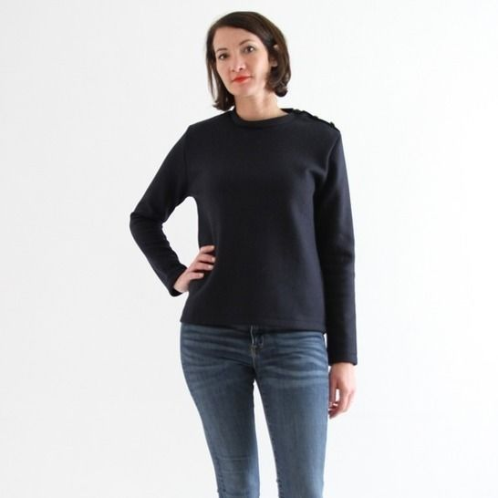Emilien - sailor sweater sewing pattern at Makerist - Image 1