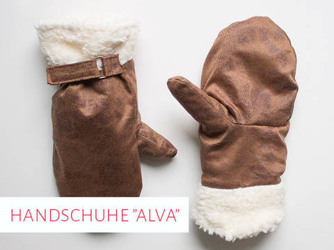 """Schnittmuster Handschuhe """"Alva"""""""